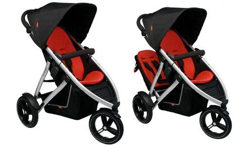 3 wheeler push chair pram or pushchair. Black Bedroom Furniture Sets. Home Design Ideas